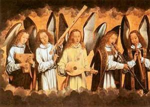 Spelende engelen