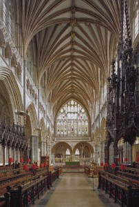 Exeter Cathedral koor